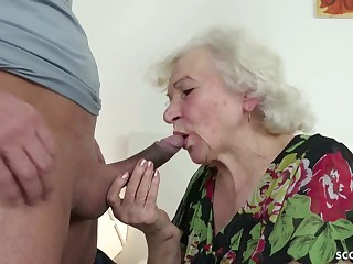 GERMAN ORDERLY CAUGHT GRANNIE JERK With the addition of HELP Beside POKE